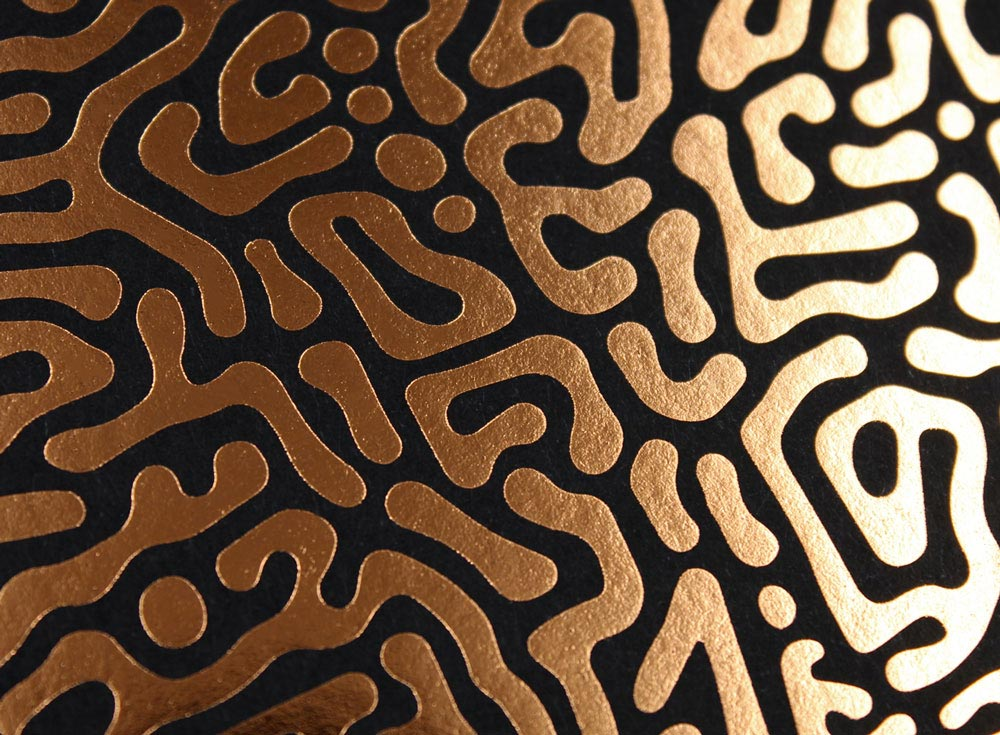 marquage a chaud cuivre sur keycolor